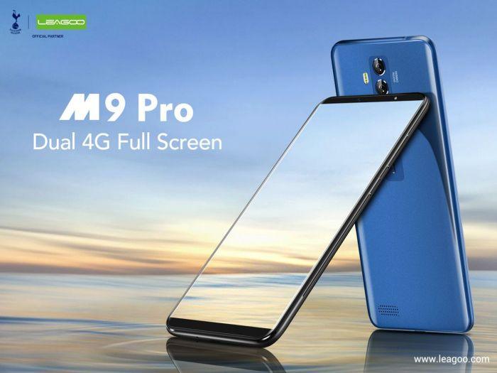Leagoo M9 Pro безрамочник с заманчивым ценником