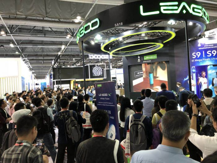 Leagoo S10 и другие смартфоны показали на выставке Global Sources Consumer Electronics 2018