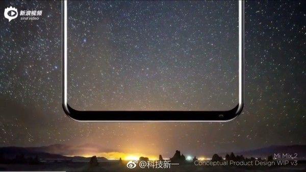Дизайнер Xiaomi MiMix 2 продемонстрировал, как будет выглядеть новый безрамочный смартфон