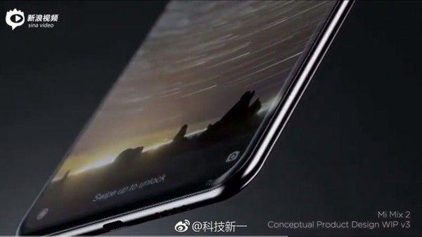 Дизайнер продемонстрировал, каким будет Xiaomi MiMix 2
