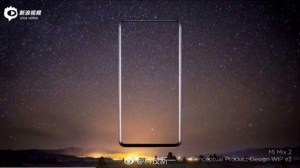 Дизайнер продемонстрировал концепт-видео Xiaomi MiMix 2