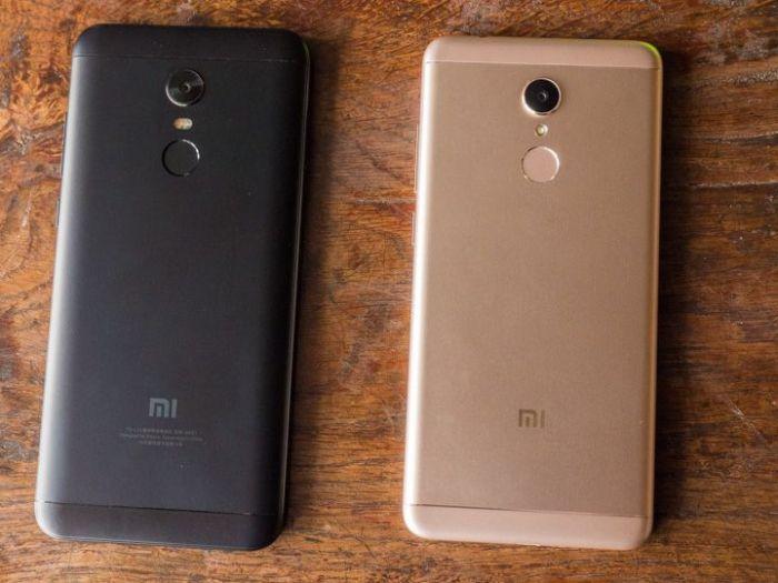 фронтальная сторона Xiaomi Redmi 5, Xiaomi Redmi 5 Plus