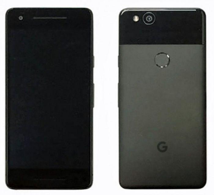 Вглобальной web-сети появились фото телефонов Google Pixel 2 иPixel 2 XL