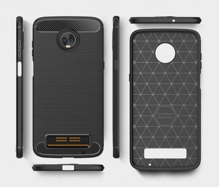 Moto Z3 Play получит боковой сканер отпечатков пальцев