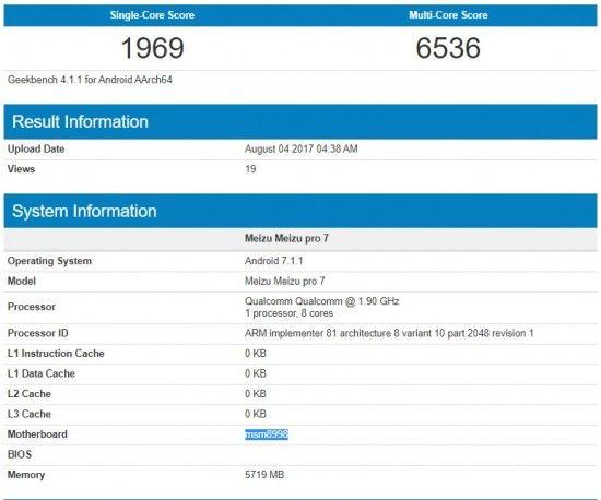 Разведаны характеристики бюджетного телефона Meizu M6 Note