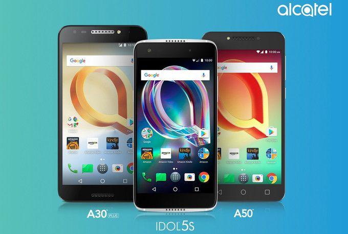 Alcatel представила три новых телефона
