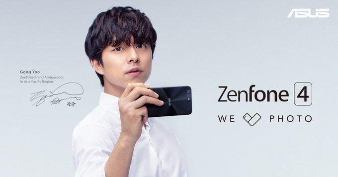 Рендеры ихарактеристики ASUS Zenfone 4