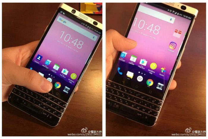 BlackBerry DTEK70 получит революционную клавиатуру TCL