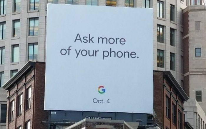 Google анонсирует Pixel 2 уже 4октября