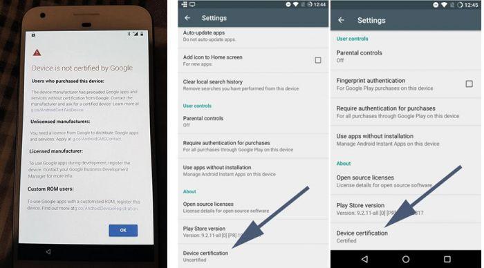 Google начала блокировать Google Apps на несертифицированных девайсах