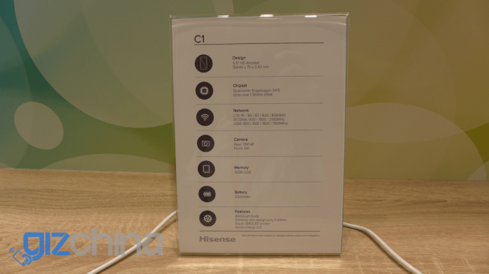 Hisense C1 представили на ifa 2015 4
