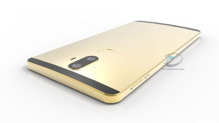 Флагманский фаблет Huawei Mate 9 покажут вконце осени