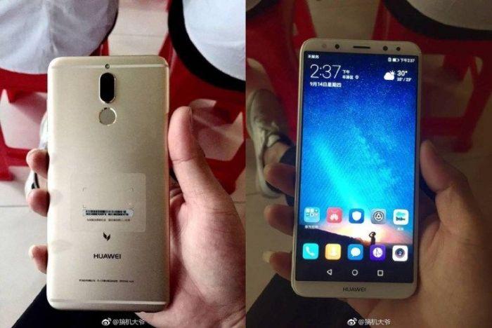 Huawei выпустила безрамочный смартфон счетырьмя камерами