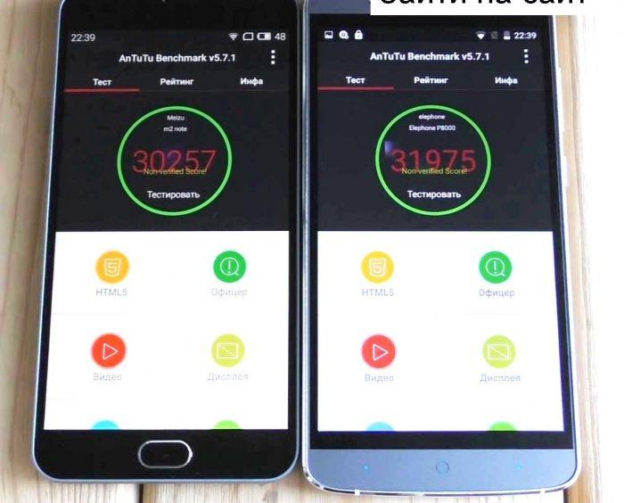Meizu M2 Note � Elephone P8000 ������������������