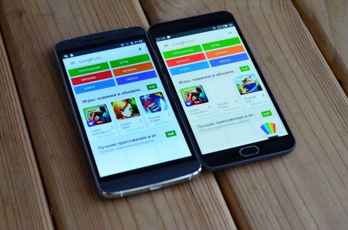 Meizu M2 Note � Elephone P8000 ���� ������