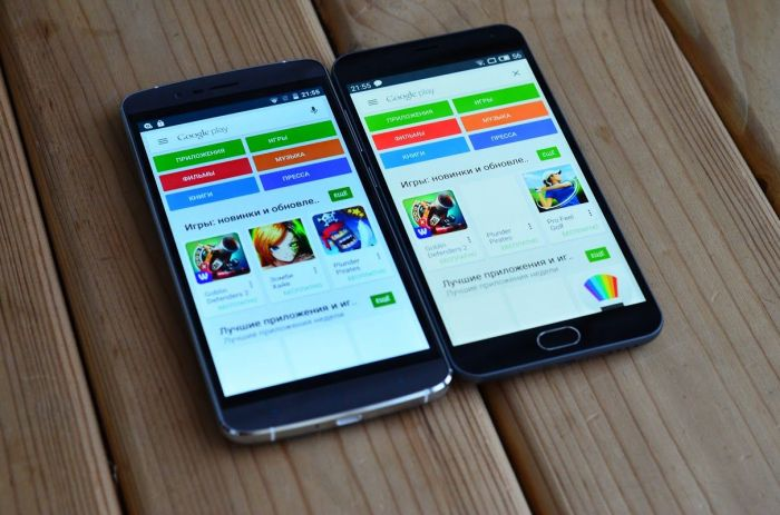 Meizu M2 Note и Elephone P8000 углы обзора