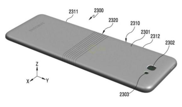 Самсунг  выпустит новый  смартфон Galaxy Xсгнущимся корпусом