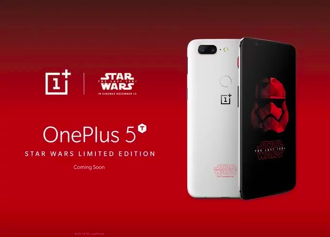 Приколы по Звездным Войнам: Представлен OnePlus 5T Star Wars Edition