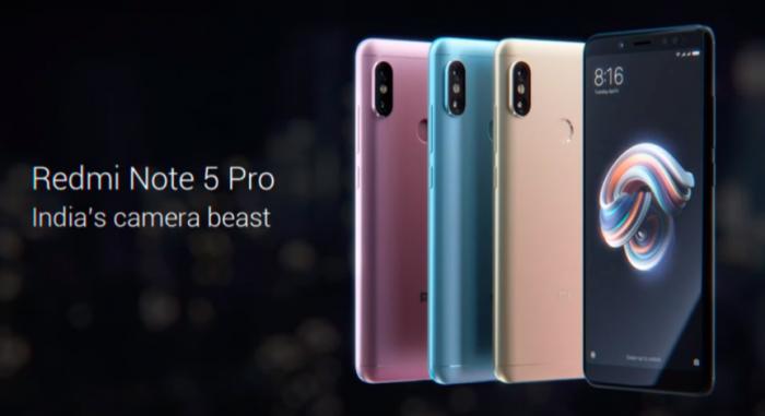 Xiaomi Redmi Note 5— безрамочный смартфон за $150