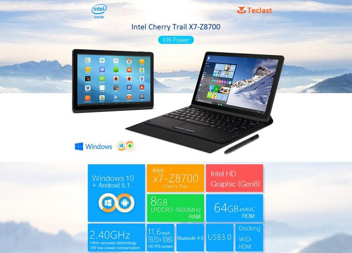 Teclast_X16_Power