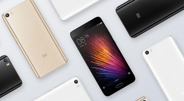 Xiaomi Mi5 внешний вид