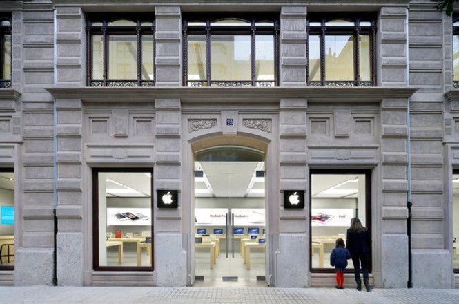 Вмагазине Apple снова зажегся  iPhone