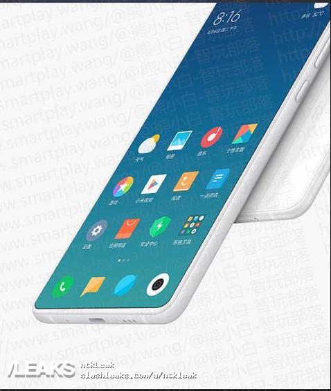 Xiaomi MiMix 3 снабдят на100% безрамочным экраном ивыдвижной камерой