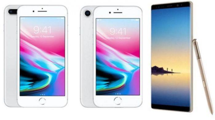 IPhone 8 Plus иGalaxy Note 8 оказались одинаковы впроизводительности