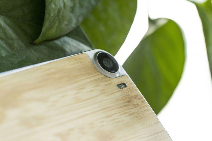 dogee_f3_pro бамбуковая задняя крышка