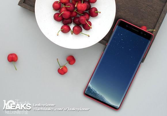 Самсунг Galaxy Note 8 получил первую защитную пленку на дисплей