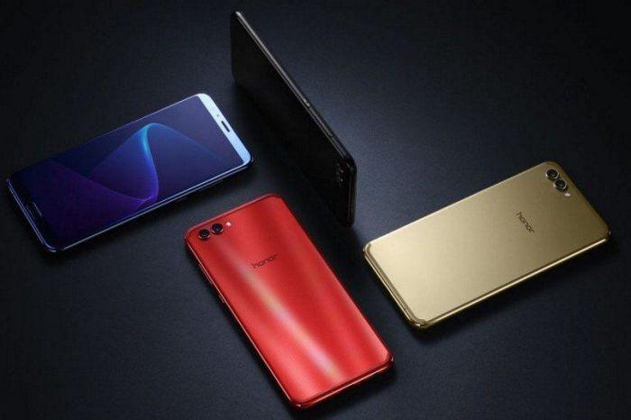 Представлен Huawei Honor V10 с двойной камерой и безрамочным дисплеем