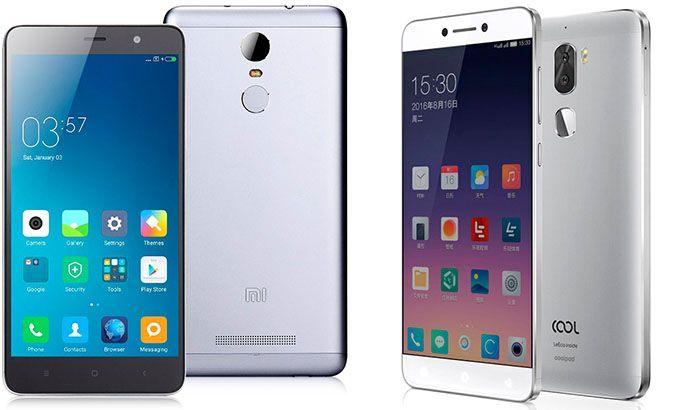Leeco Cool 1 и Xiaomi Redmi Note 3 Pro