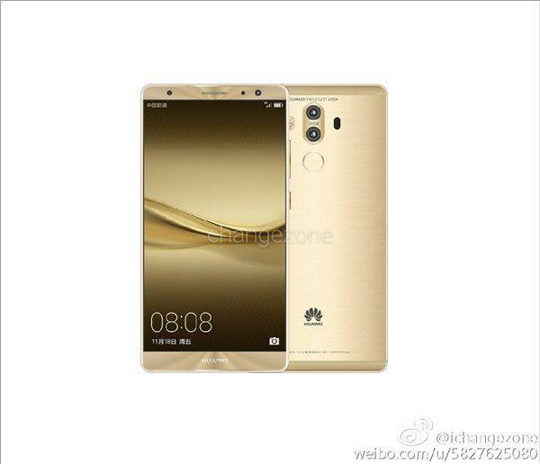 Официальные изображения Huawei Mate 9 вовсех цветах