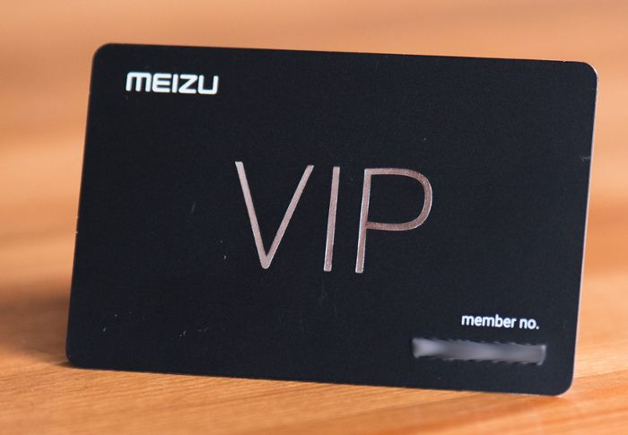 VIP-карта Meizu Pro 7 Plus