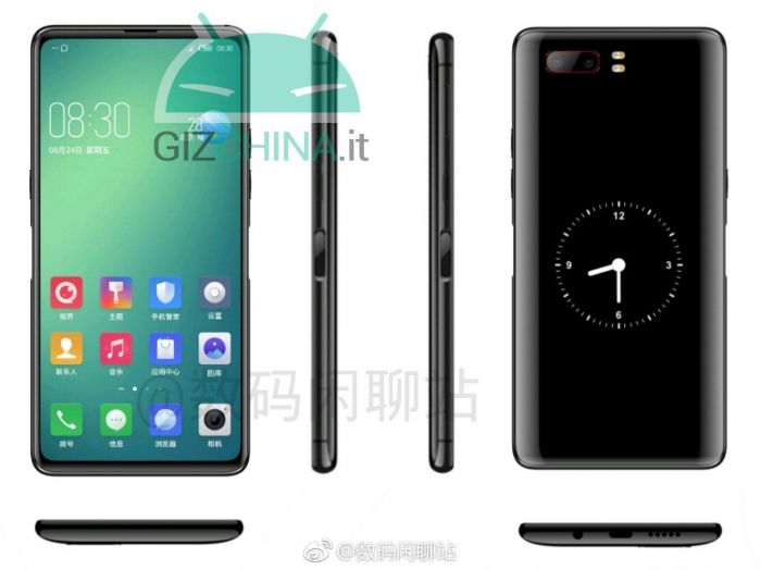 Nubia Z18S как может выглядеть смартфон с двумя экранами