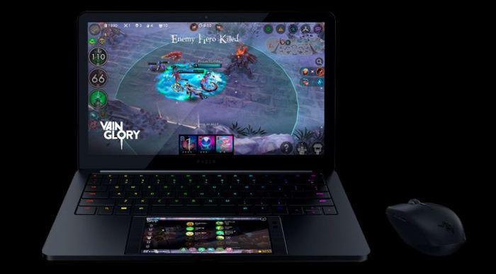 Razer показала прототип ноутбука, работающего набазе телефона