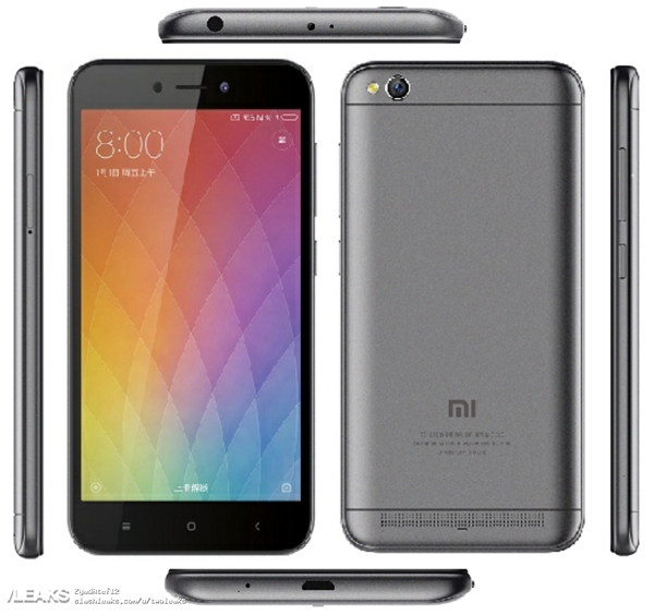 Xiaomi Redmi Note 5: рендеры и характеристики