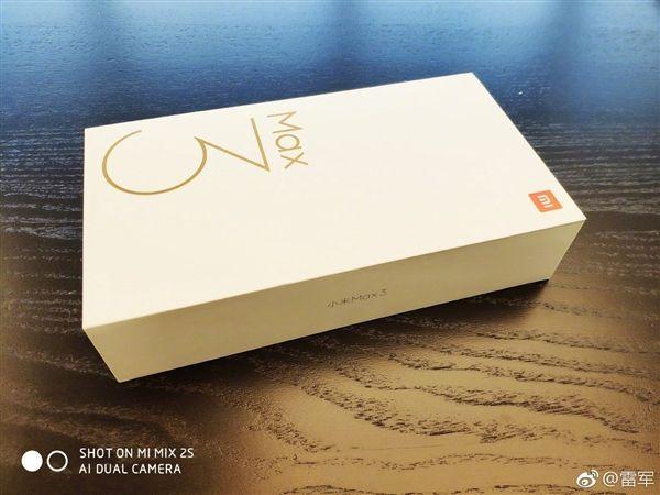 Xiaomi MiMax 3 попал вобъектив камеры