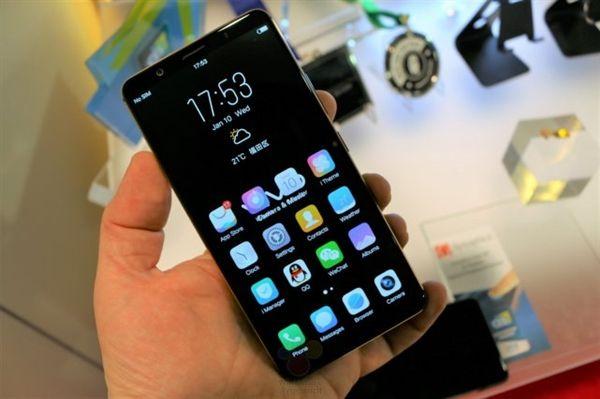 Неповторимый смартфон Vivo X20 PlusUD выйдет ксередине зимы