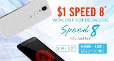 Zopo Speed 8 есть шанс купить всего за $1, если у тебя есть аккаунт в Facebook