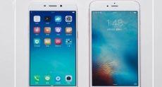 Oppo R9 против iPhone 6S Plus: сравнение скорости разблокировки с помощью сканера отпечатков пальцев