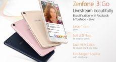 Бюджетный ASUS ZenFone 3 Go с процессором Snapdragon 410 представят на MWC 2017