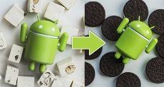 Доля пользователей различных версий ОС Android (Май, 2018)