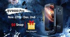 Только одну неделю Blackview BV9000 Pro с дисплеем 18:9 и двойной камерой доступен по цене $299,99