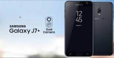 Samsung Galaxy J7+ с двойной камерой представлен