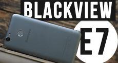 Blackview E7: распаковка смартфона, не требующего больших трат