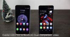 Bluboo Dual и Oukitel U20 Plus: видео сравнение бюджетников с двумя тыльными камерами