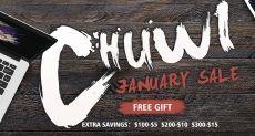 Geekbuying устроил раздачу купонов на продукты Chuwi