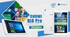 Акция: планшет Chuwi Hi8 Pro с 8-дюймовым WUXGA-дисплеем, процессором Intel Atom x5-Z8300, 2+32 ГБ памяти и Windows 10 всего за $96.90. Только 1 день!