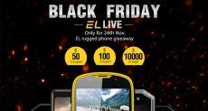 Черная пятница: скидки на защищенные смартфоны E&L